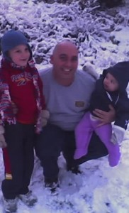 Rod, Jakob and Jordan in the Snow – 2007
