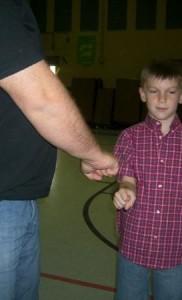 Rod & Jakob (Father & Son Fist-Bump)